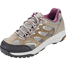 Hi-Tec Wild-Fire Low i WP Zapatillas Mujer, taupe/warm grey/grape wine